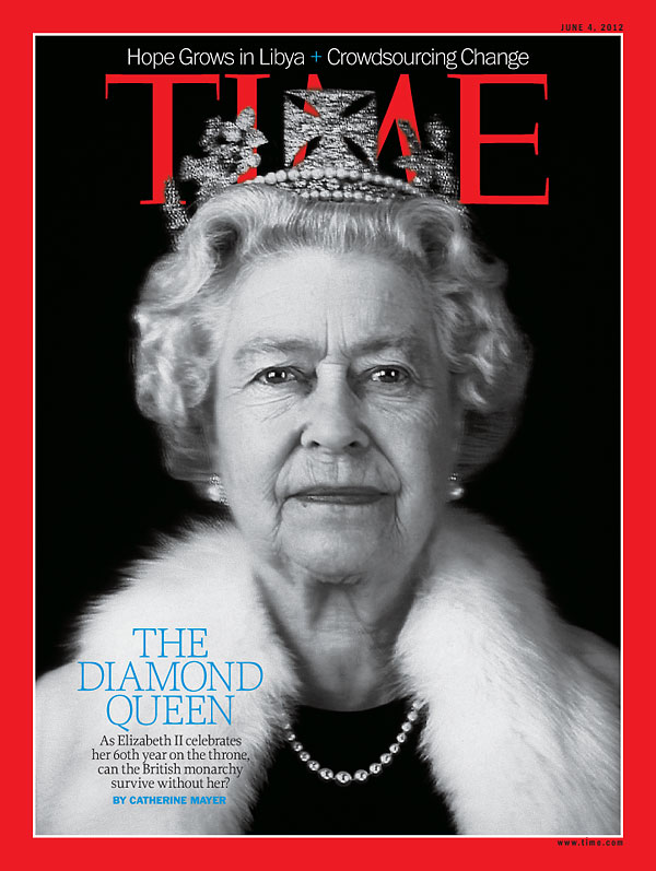 TIME Magazine Cover: The Diamond Queen -- June 4, 2012