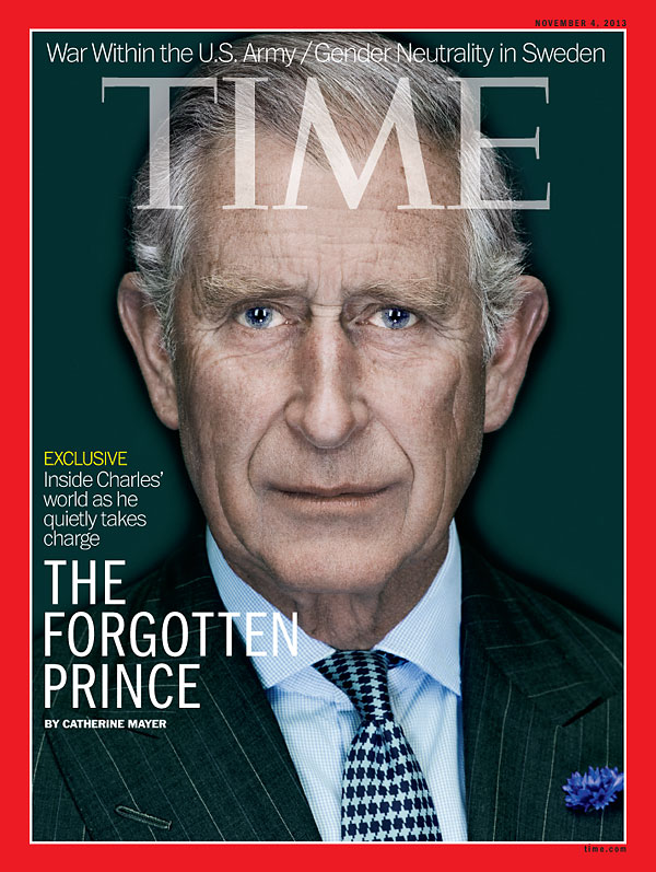Portrait of Prince Charles