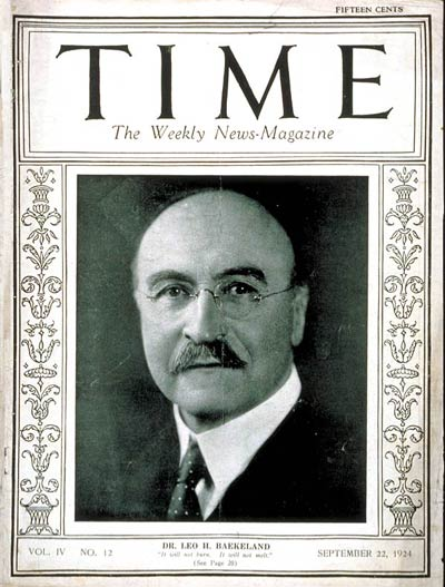 TIME Magazine Cover: Leo H. Baekeland - Sep. 22, 1924: Inventors, Business -- Click for Table of Contents