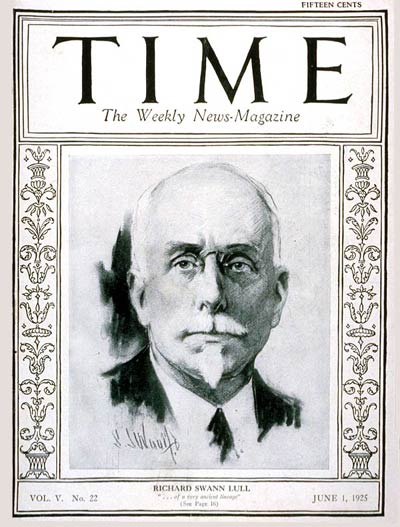 TIME Magazine Cover: Richard Swann Lull -- June 1, 1925