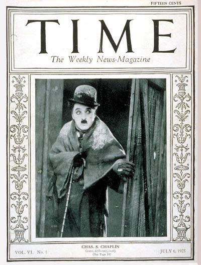 TIME Magazine Cover: Charlie Chaplin -- July 6, 1925