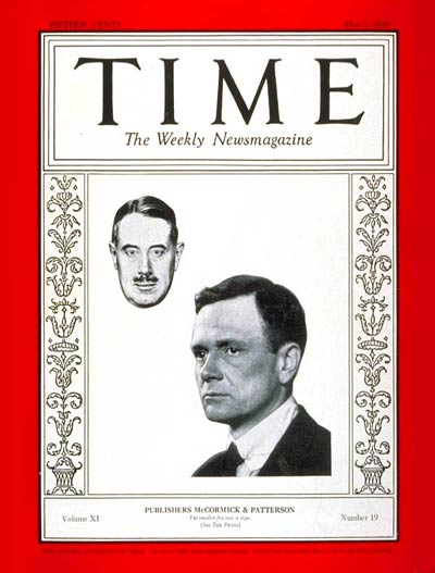 TIME Magazine Cover: Robert McCormick & Joseph Patterson -- May 7, 1928
