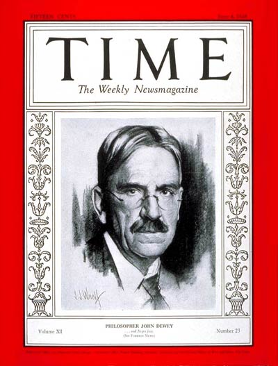TIME Magazine Cover: John Dewey -- June 4, 1928