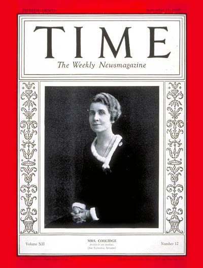 First Lady Grace Coolidge