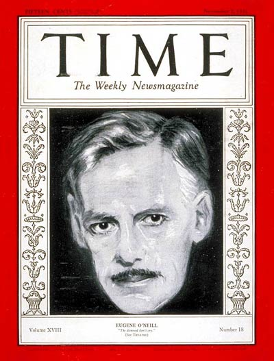 TIME Magazine Cover: Eugene O'Neill -- Nov. 2, 1931