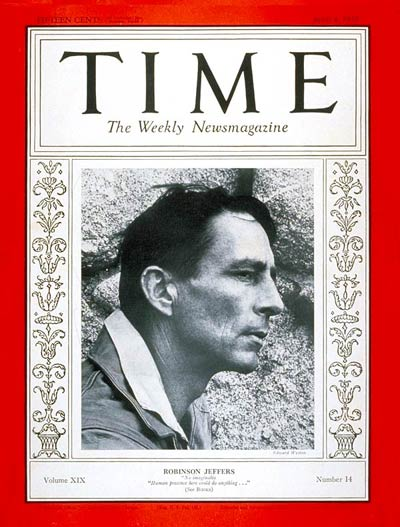 TIME Magazine Cover: Robinson Jeffers -- Apr. 4, 1932