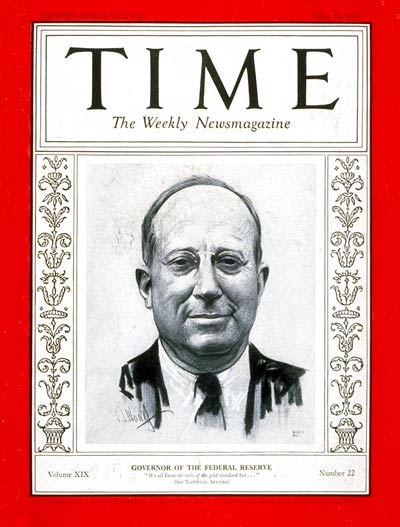 TIME Magazine Cover: Eugene Meyer -- May 31, 1932