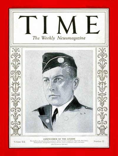 TIME Magazine Cover: Henry L. Stevens Jr. -- Sep. 12, 1932