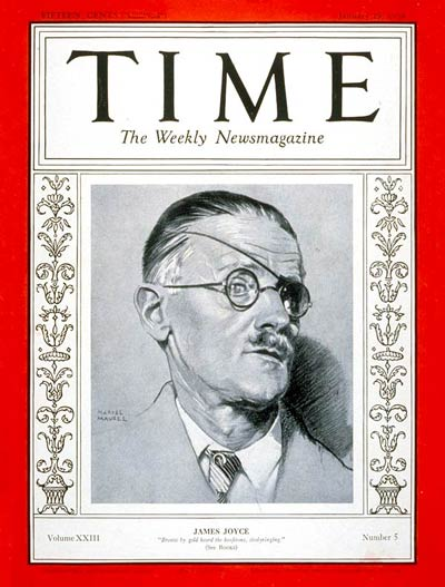 TIME Magazine Cover: James Joyce -- Jan. 29, 1934