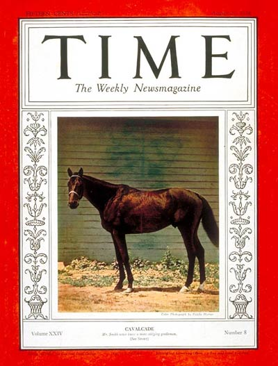 TIME Magazine Cover: Cavalcade -- Aug. 20, 1934