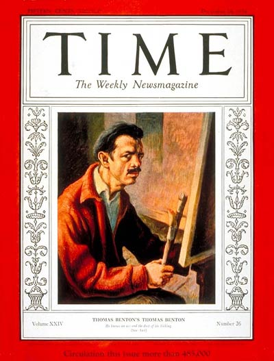TIME Magazine Cover: Thomas Hart Benton -- Dec. 24, 1934