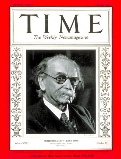 TIME Magazine Cover: Franz Boas -- May 11, 1936