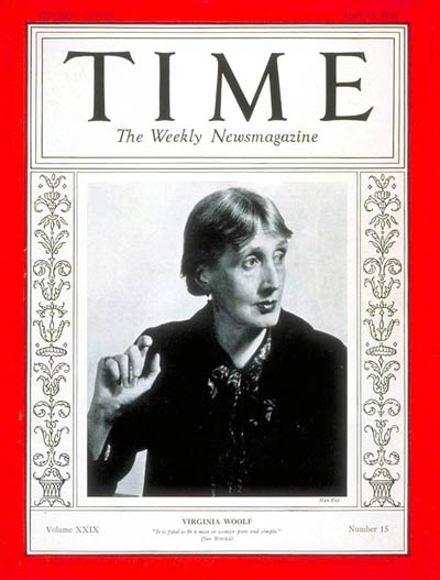 TIME Magazine Cover: Virginia Woolf -- Apr. 12, 1937