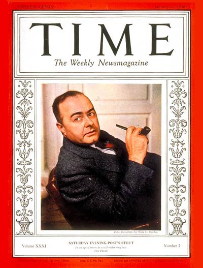 TIME Magazine Cover: Wesley W. Stout -- Jan. 10, 1938