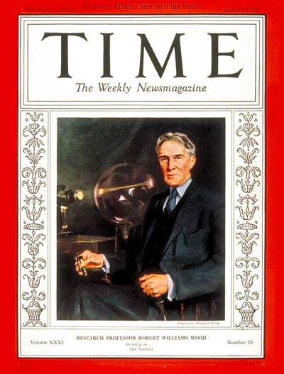 TIME Magazine Cover: Robert W. Wood -- June 20, 1938