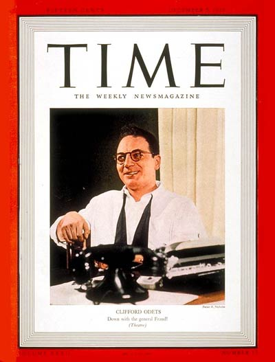 TIME Magazine Cover: Clifford Odets -- Dec. 5, 1938