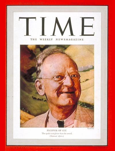 TIME Magazine Cover: Robert Fechner -- Feb. 6, 1939