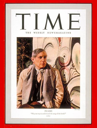 TIME Magazine Cover: Pablo Picasso -- Feb. 13, 1939