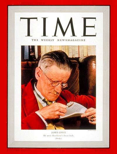 Business Book Cover Archive : Time magazine cover james joyce may