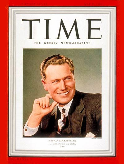 TIME Magazine Cover: Nelson Rockefeller -- May 22, 1939