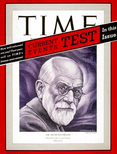 TIME Magazine Cover: Sigmund Freud -- June 26, 1939