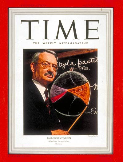 TIME Magazine Cover: Edwin G. Conklin -- July 3, 1939