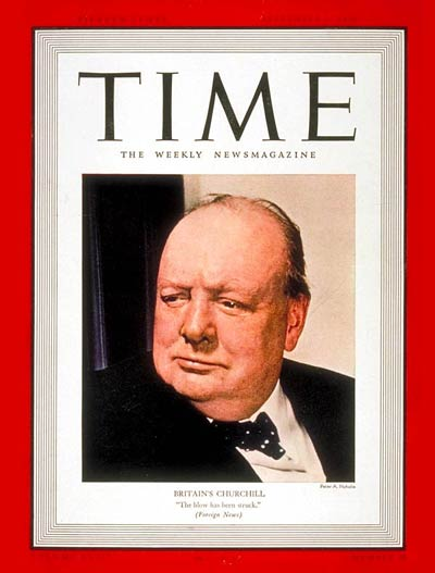 TIME Magazine Cover: Winston Churchill -- Sep. 4, 1939