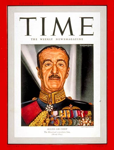 TIME Magazine Cover: Sir Cyril Newall -- Oct. 23, 1939