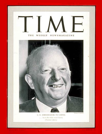TIME Magazine Cover: Nelson T. Johnson -- Dec. 11, 1939