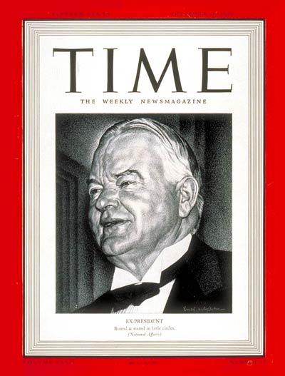 TIME Magazine Cover: Herbert Hoover -- Dec. 18, 1939