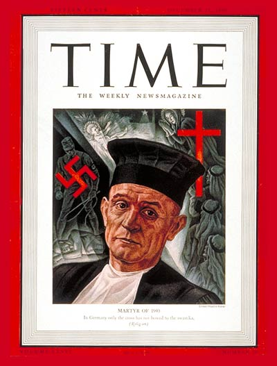 TIME Magazine Cover: Martin Neimoller -- Dec. 23, 1940