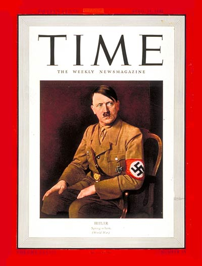 TIME Magazine Cover: Adolf Hitler -- Apr. 14, 1941