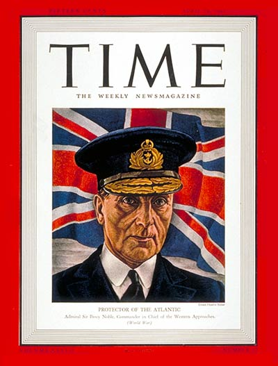 TIME Magazine Cover: Sir Percy Noble -- Apr. 28, 1941