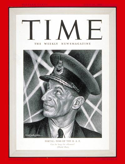 TIME Magazine Cover: Sir Charles Portal -- July 28, 1941