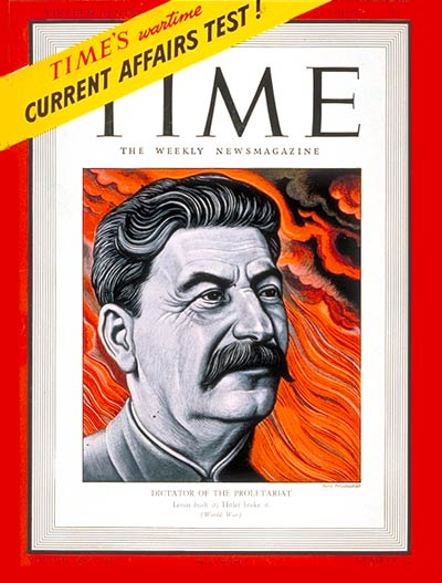 TIME Magazine Cover: Joseph Stalin -- Oct. 27, 1941