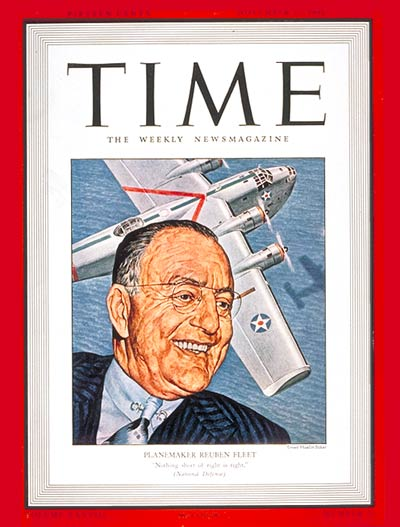 TIME Magazine Cover: Reuben Fleet -- Nov. 17, 1941