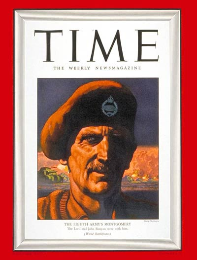 TIME Magazine Cover: General Montgomery -- Feb. 1, 1943