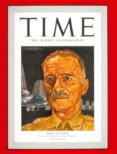 TIME Magazine Cover: General Carl Spaatz -- Mar. 22, 1943