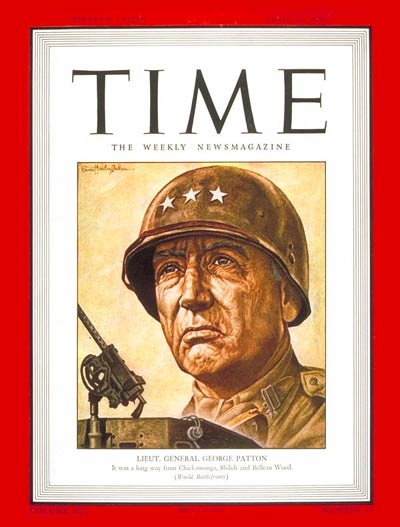 TIME Magazine Cover: Lt. General George Patton -- Apr. 12, 1943