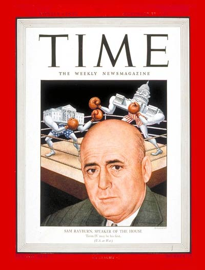 TIME Magazine Cover: Sam Rayburn -- Sep. 27, 1943