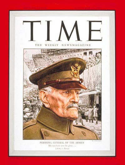 TIME Magazine Cover: General John J. Pershing -- Nov. 15, 1943