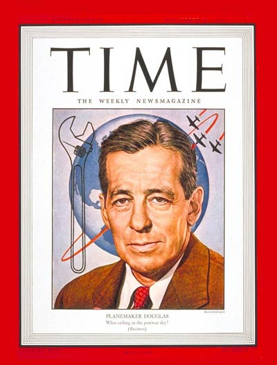 TIME Magazine Cover: Donald W. Douglas -- Nov. 22, 1943