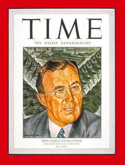 TIME Magazine Cover: Charles Edward Wilson -- Dec. 13, 1943