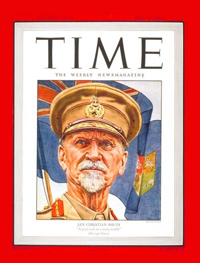 TIME Magazine Cover: Jan C. Smuts -- May 22, 1944