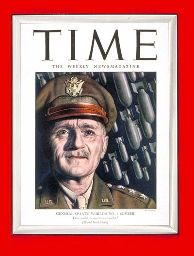 TIME Magazine Cover: Lt. Gen. Carl Spaatz -- June 12, 1944