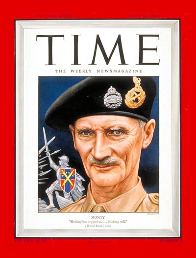 TIME Magazine Cover: General Montgomery -- July 10, 1944