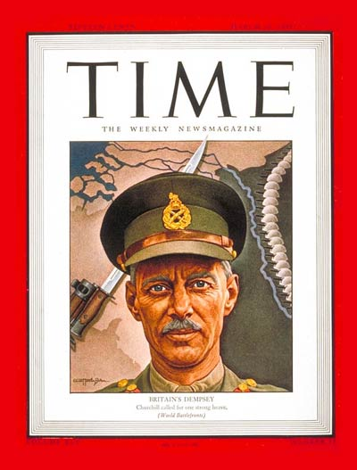 TIME Magazine Cover: Sir Miles C. Dempsey -- Mar. 19, 1945