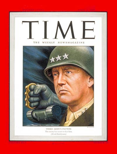 TIME Magazine Cover: Lt. General Patton -- Apr. 9, 1945