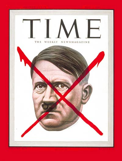 TIME Magazine Cover: Adolf Hitler -- May 7, 1945