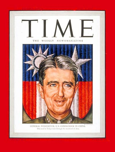 TIME Magazine Cover: Lt. General Wedemeyer -- June 4, 1945
